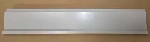 Flohmarkt: Metallablage für Lamellenwand, grau