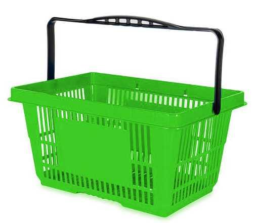 Einkaufskorb 22L in Grün