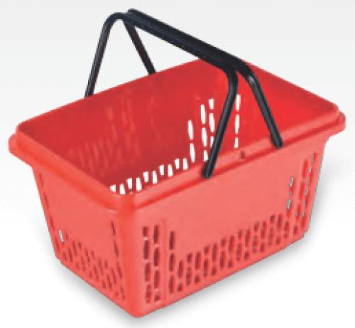Einkaufskorb 28L in Rot