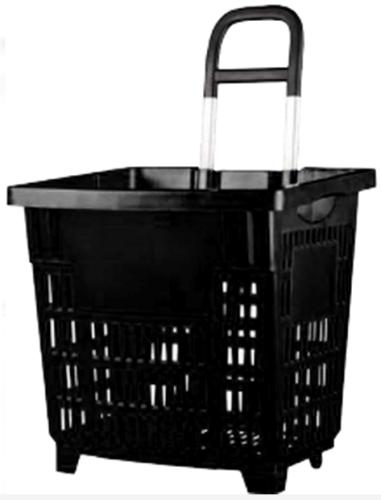 Einkaufskorb 55L in Schwarz